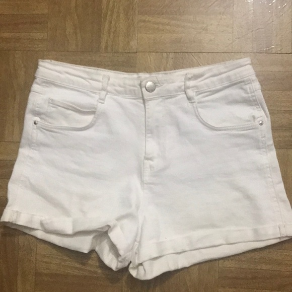Zara Pants - White shorts